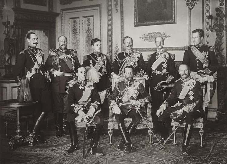 May 20, 1910: The Nine Kings Of Europe Photographed Together For The First And Only Time