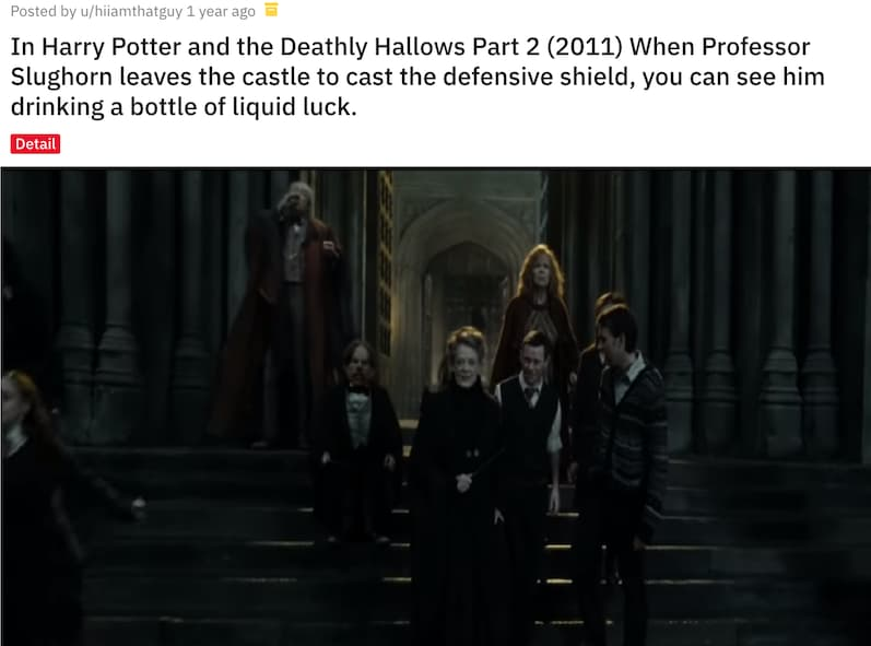 Image of Random Small But Poignant Details From Harry Potter