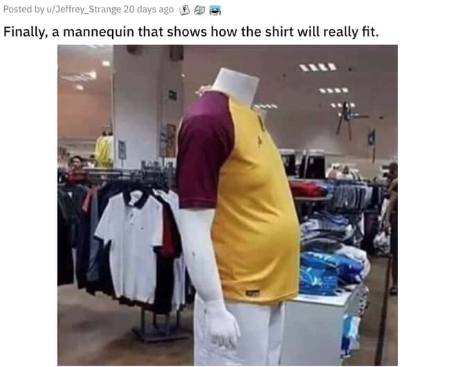 A More Realistic Mannequin is listed (or ranked) 20 on the list 31 Awesome Pictures That Went Viral In June 2020