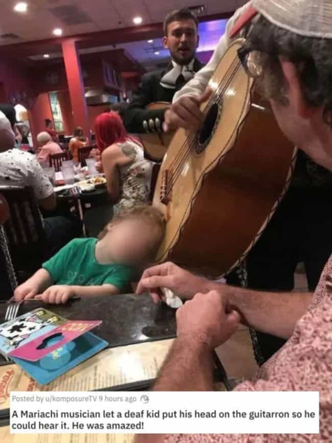 Mariachi For Everyone is listed (or ranked) 2 on the list 31 Awesome Pictures That Went Viral In June 2020