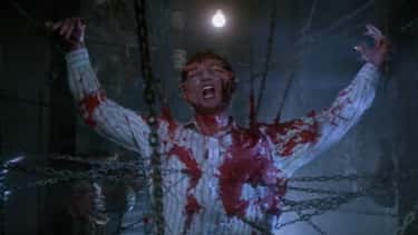 Frank Cotton In 'Hellraiser' is listed (or ranked) 2 on the list 12 Of The Most Over-The-Top Monster Movie Death Scenes