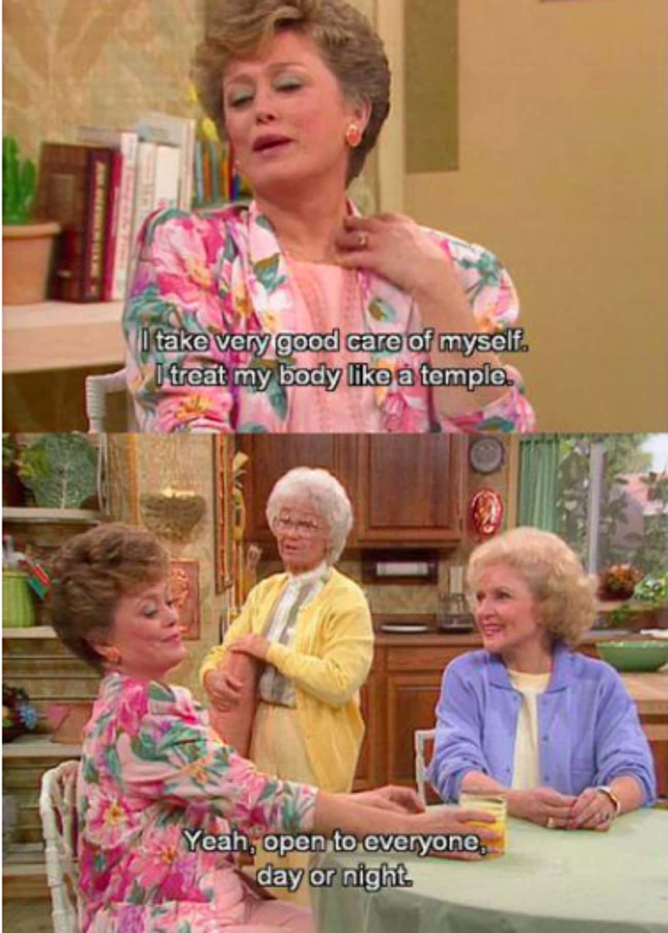 Amen! is listed (or ranked) 3 on the list The Most Savage Clapbacks On 'The Golden Girls' That Still Make Us Feel The Burn