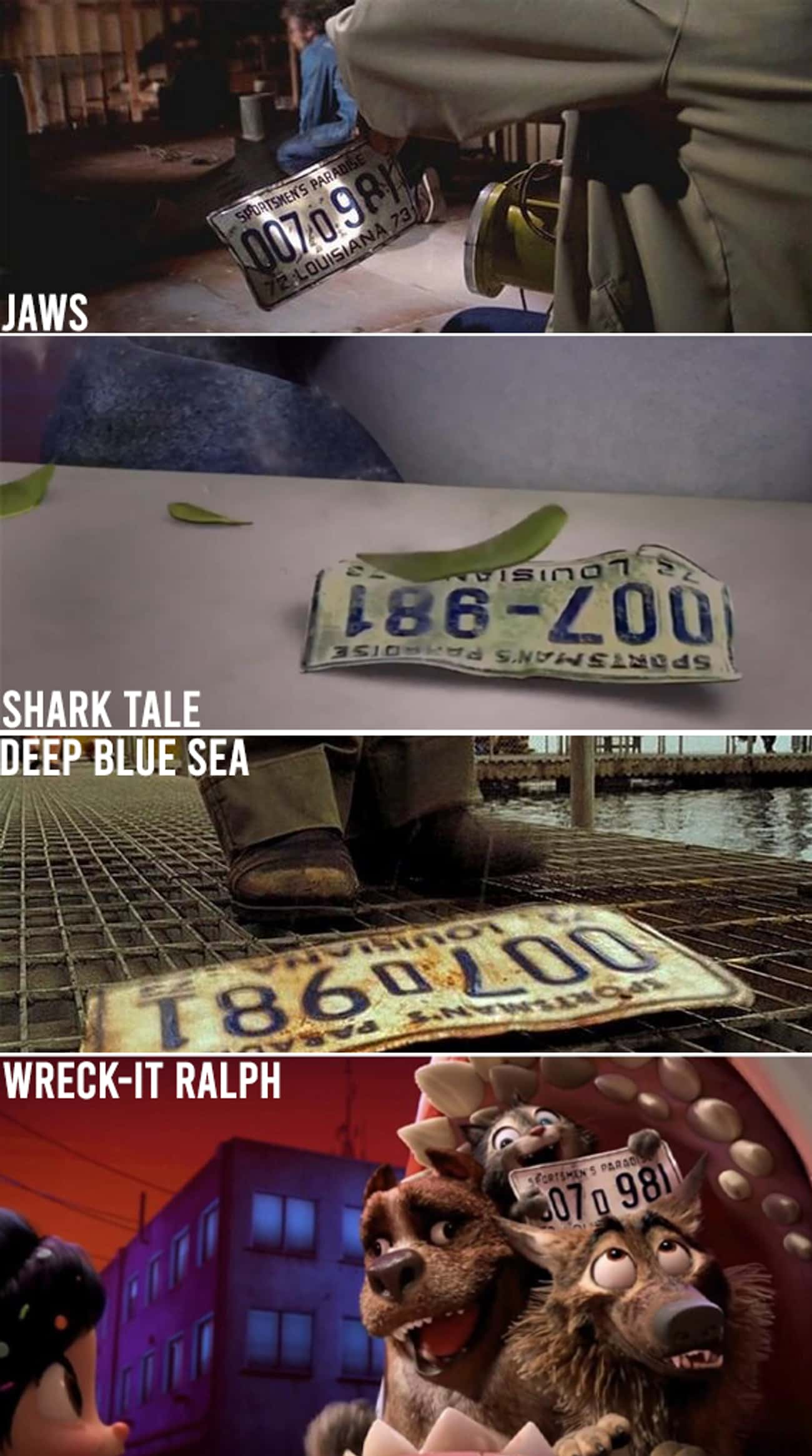 The License Plate Has Been Aro is listed (or ranked) 2 on the list Surprising Facts, Small Details, And Trivia Most People Don't Know About 'Jaws'