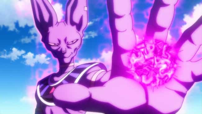 Beerus - 'Dragon Ball Su... is listed (or ranked) 3 on the list The 25 Most Powerful Anime Villains of All Time, Ranked by Strength