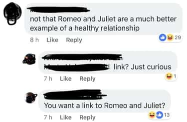 Who Doesn't Know The Story? is listed (or ranked) 2 on the list 26 Romeo & Juliet Memes That Actually Made Us Laugh Out Loud
