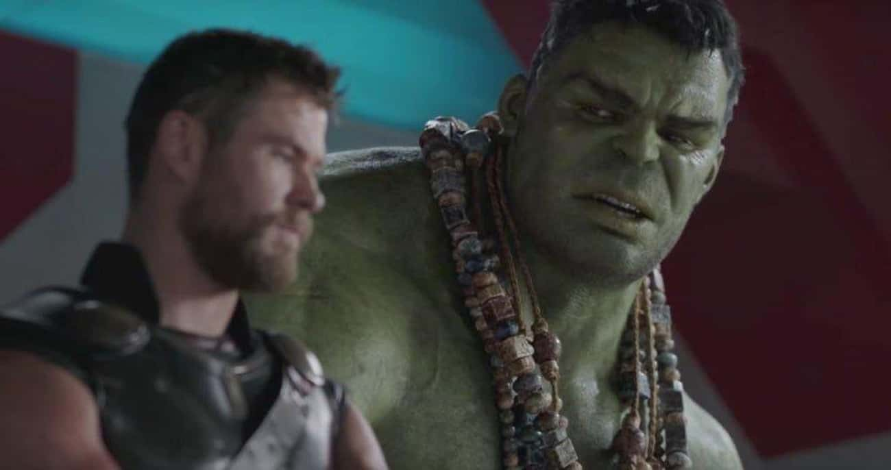 The Only Time Hulk Refers To H is listed (or ranked) 1 on the list Small But Poignant Details About Thor That Fans Noticed