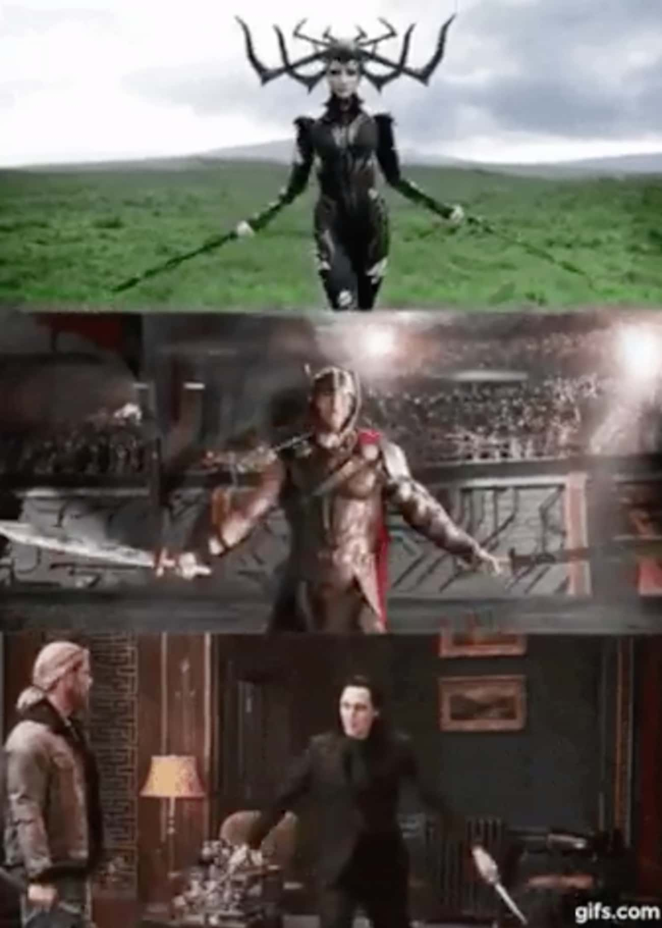 In 'Ragnarok,' Thor, Loki, and is listed (or ranked) 3 on the list Small But Poignant Details About Thor That Fans Noticed