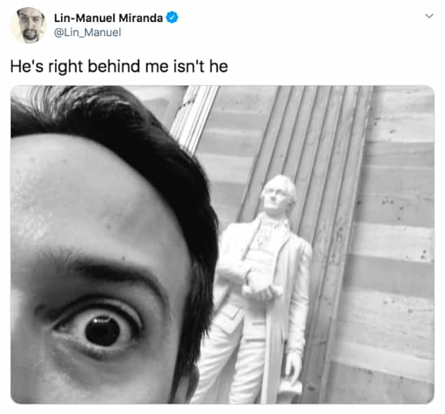 Don't Panic is listed (or ranked) 1 on the list 27 Lin-Manuel Miranda Tweets That Prove He Is Just As Amazing On Twitter As He Is On Stage