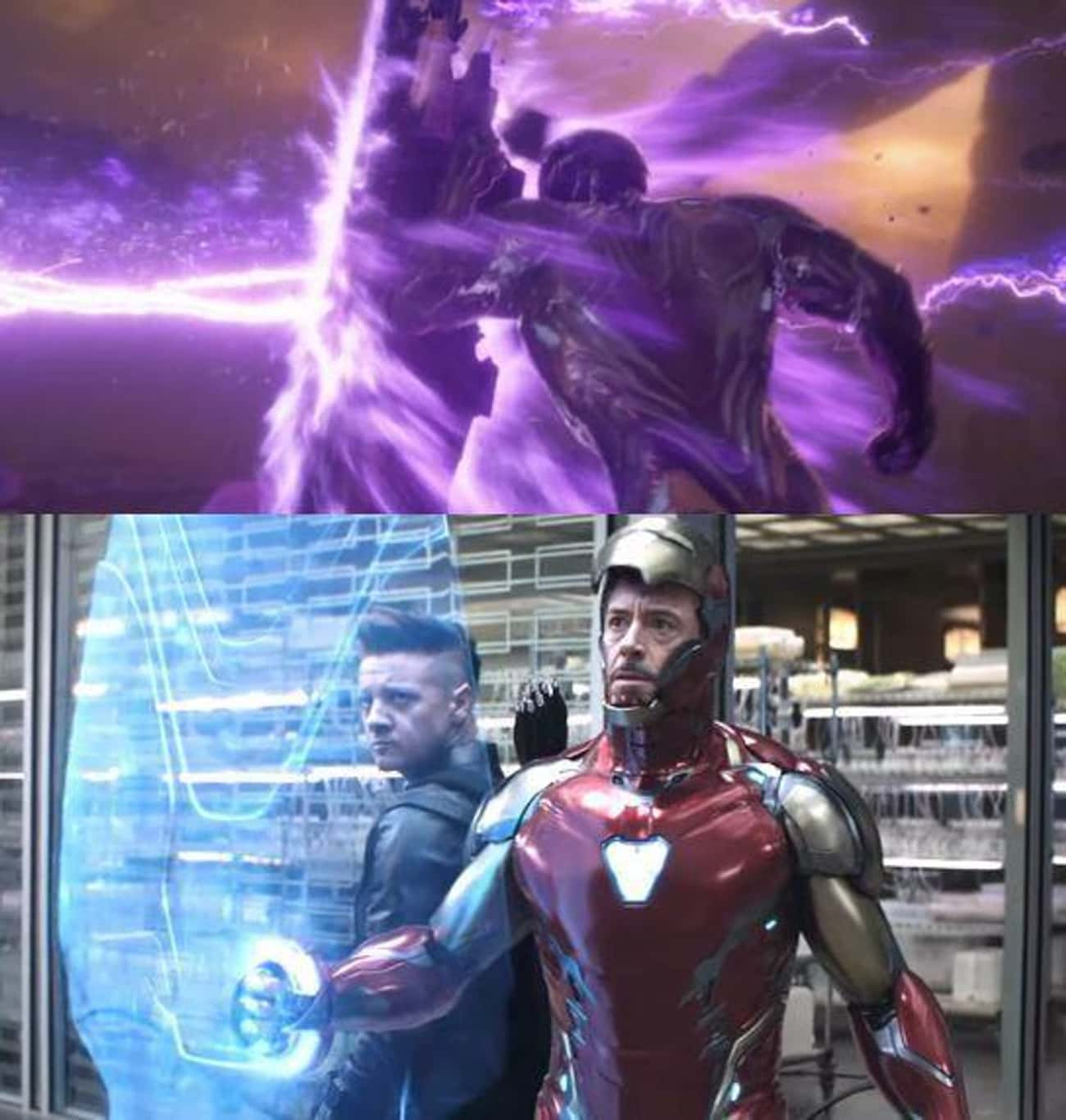 Tony Upgraded To WakandanHolo is listed (or ranked) 3 on the list Small Details From 'Avengers: Endgame' That Enhance Our 100th Viewing