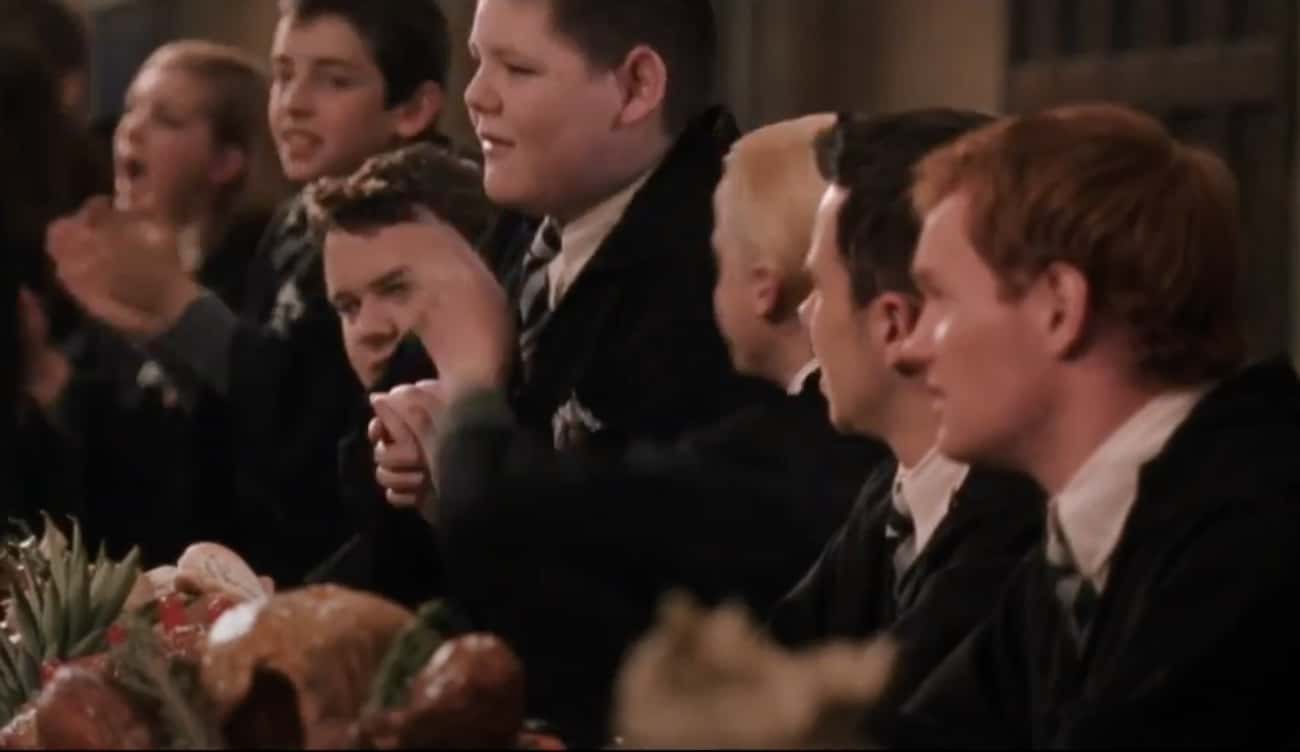When Crabbe Starts To Stand Up is listed (or ranked) 4 on the list The Best Improvised And Unscripted Moments In The 'Harry Potter' Movies
