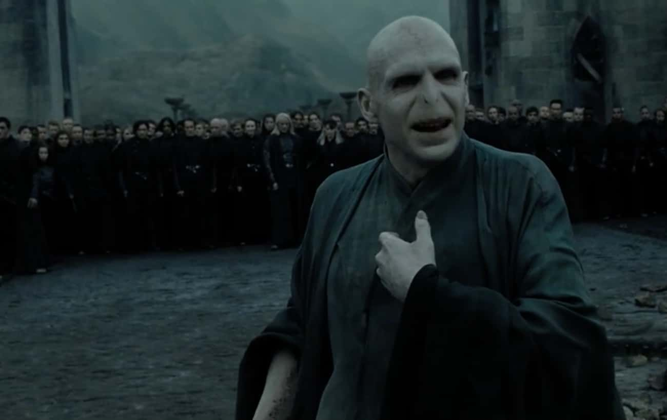 When Voldemort Torments Everyo is listed (or ranked) 2 on the list The Best Improvised And Unscripted Moments In The 'Harry Potter' Movies