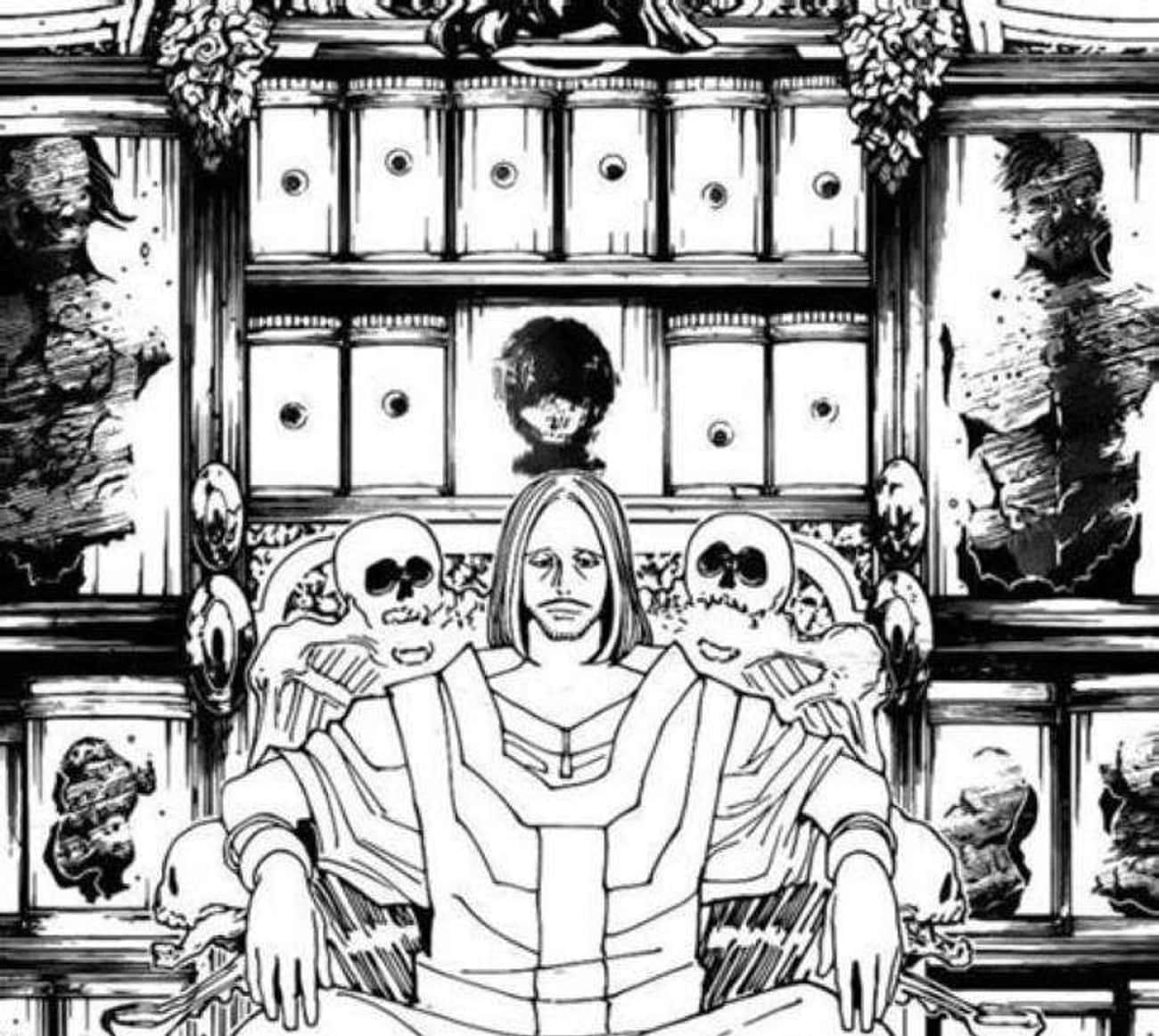 The Head Behind Tserriednich's Throne Is Pairo's Head