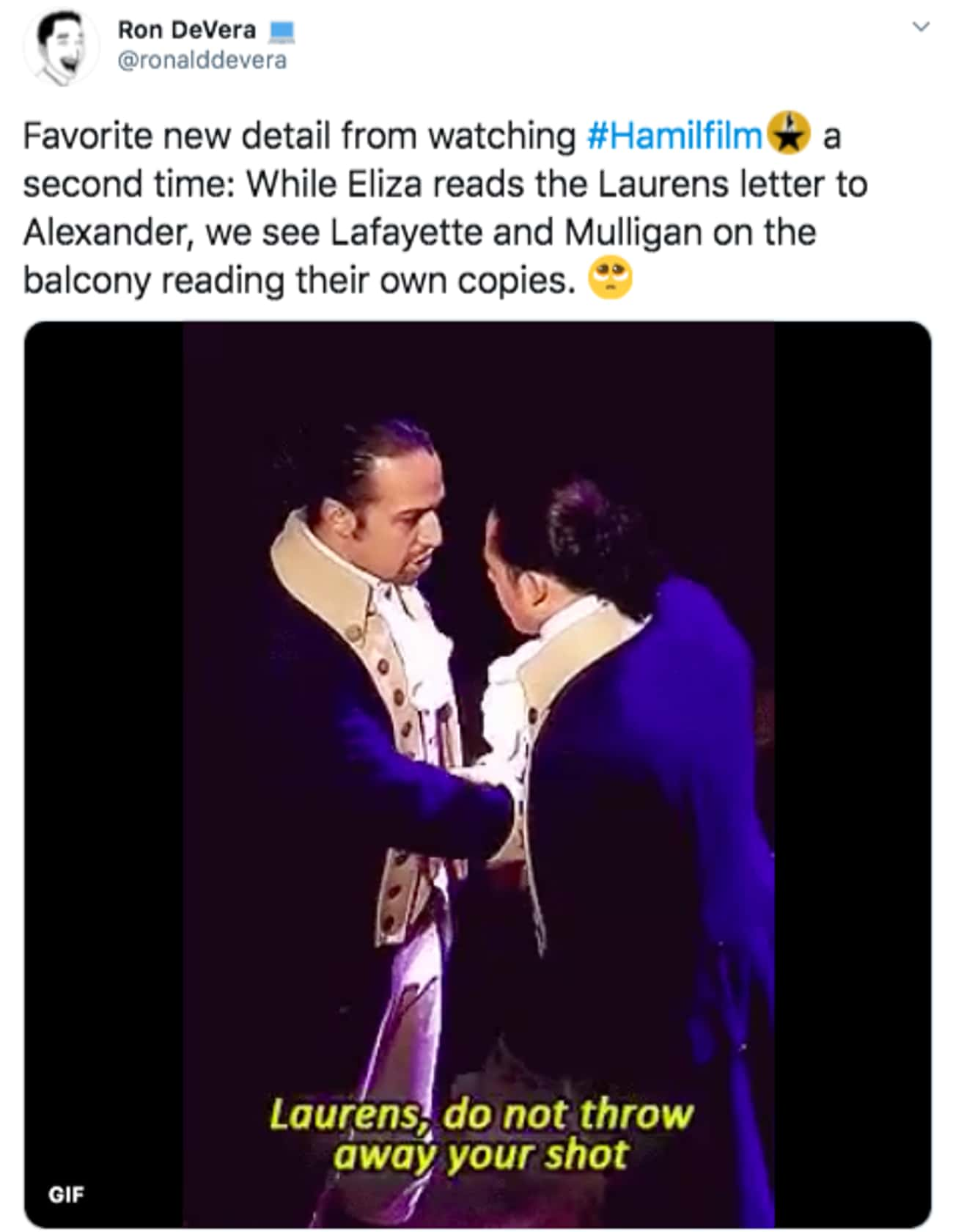 They All Got Letters is listed (or ranked) 2 on the list 27 Small But Poignant Details That Fans Noticed About 'Hamilton' The Musical