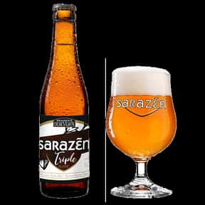Sarazen Triple is listed (or ranked) 24 on the list The Best Belgian Beers