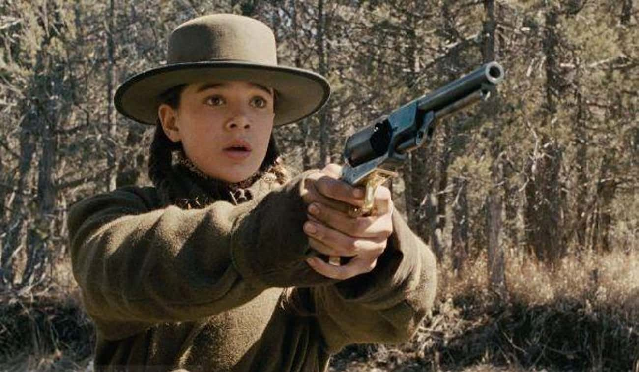 Hailee Steinfeld Beat Out 15,0 is listed (or ranked) 3 on the list Behind-The-Scenes Stories From Both Classic Versions Of 'True Grit'