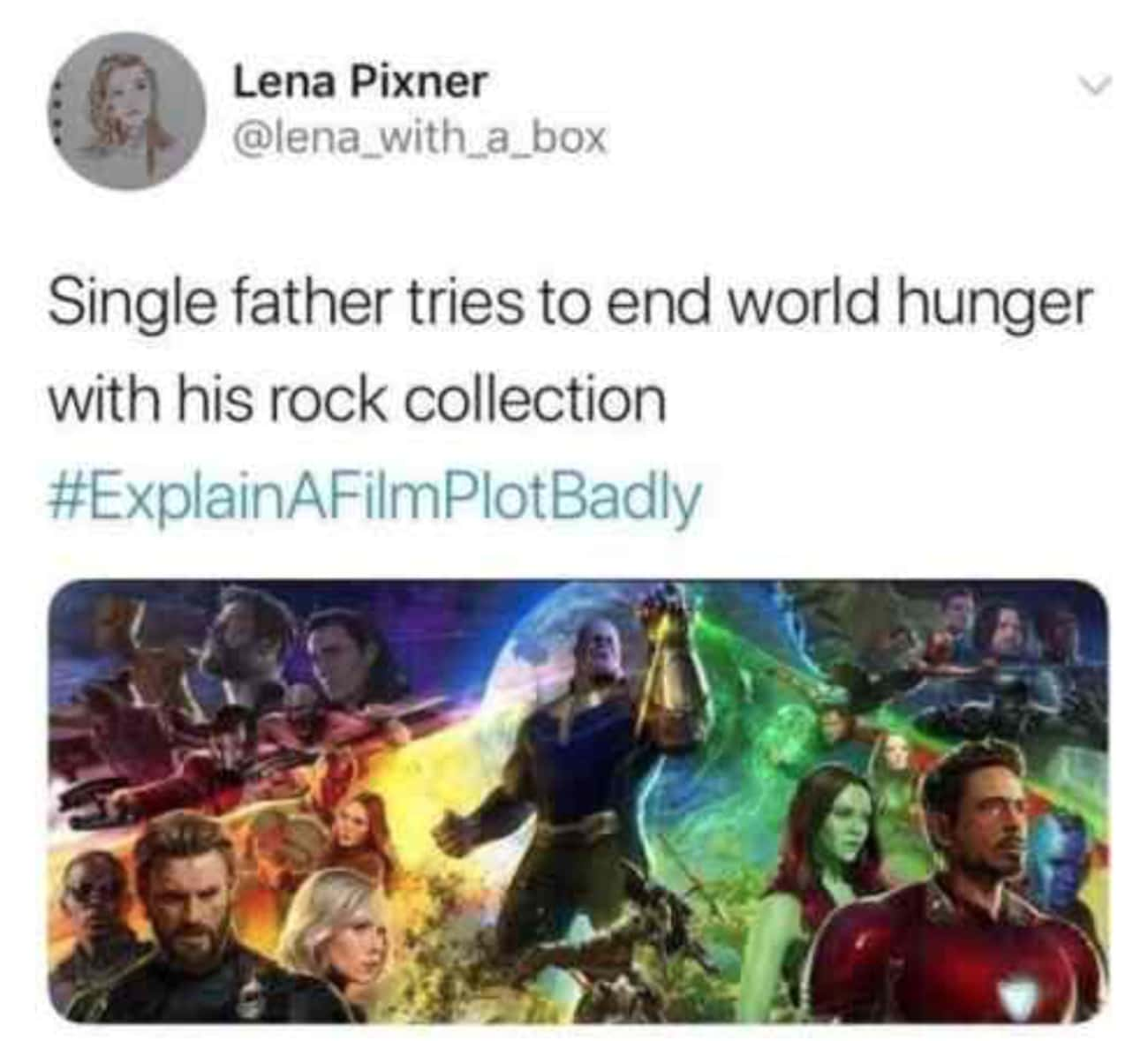 He Tried His Best is listed (or ranked) 4 on the list 27 Memes That Prove Thanos Is The Funniest Character In The Entire MCU