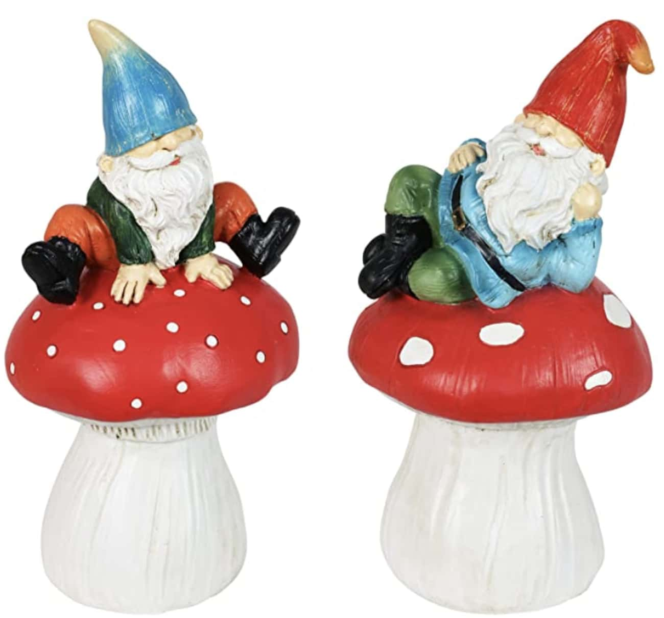 Mushroom Gnomes is listed (or ranked) 3 on the list 20 Cool Garden Gnomes To Spice Up Your Yard