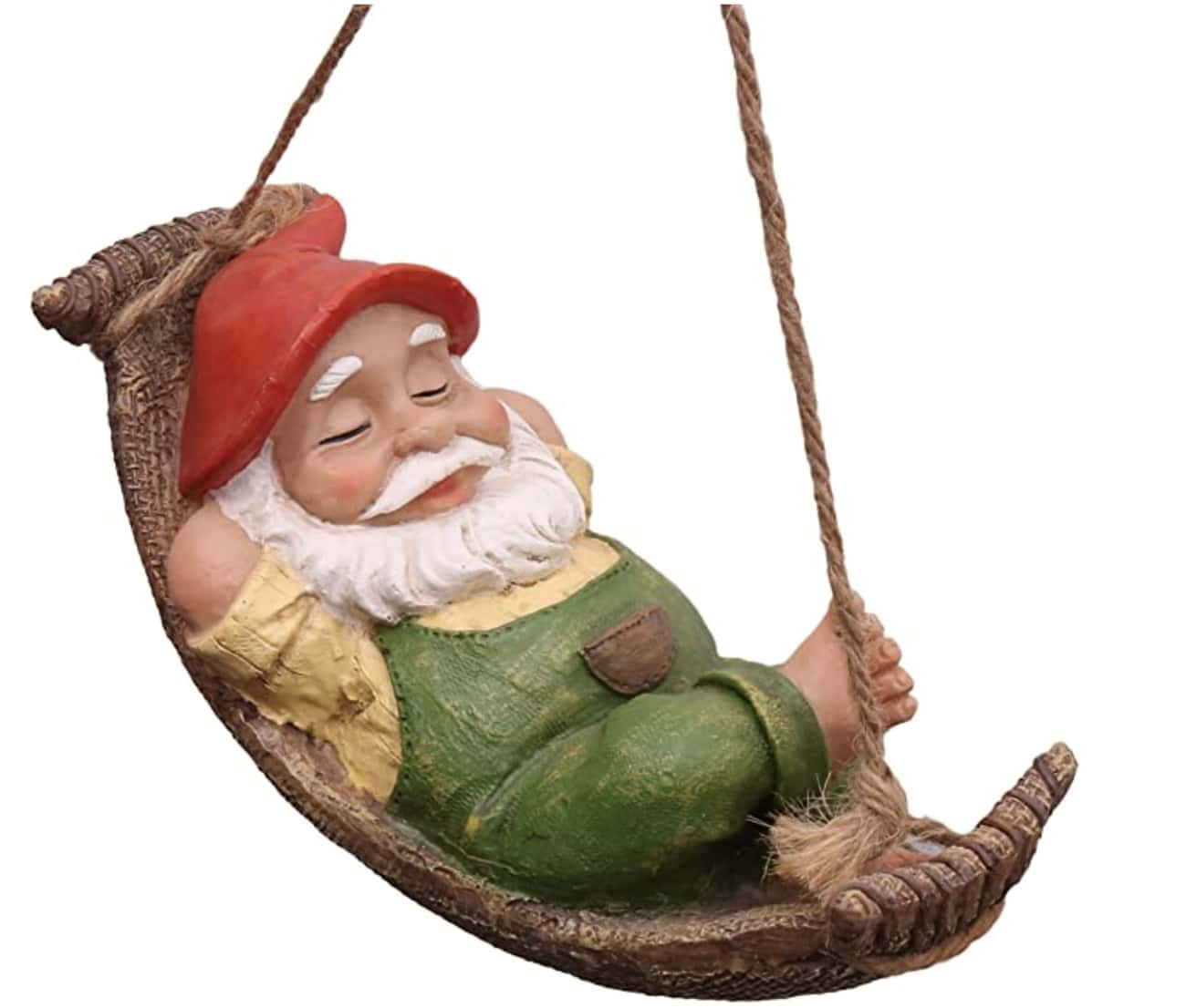 Relaxed Gnome is listed (or ranked) 1 on the list 20 Cool Garden Gnomes To Spice Up Your Yard