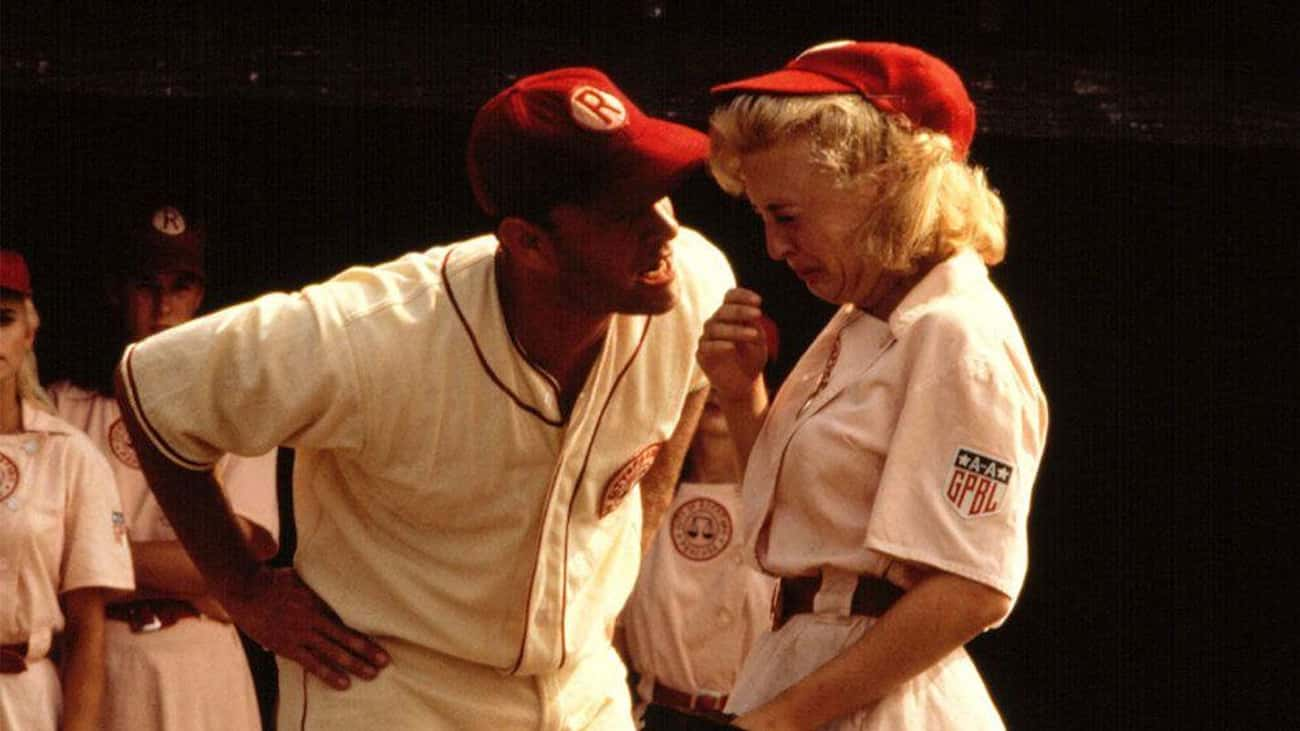 No One Thought That 'There's N is listed (or ranked) 1 on the list Behind-The-Scenes Stories From 'A League of Their Own,' The Most Rewatchable Sports Movie