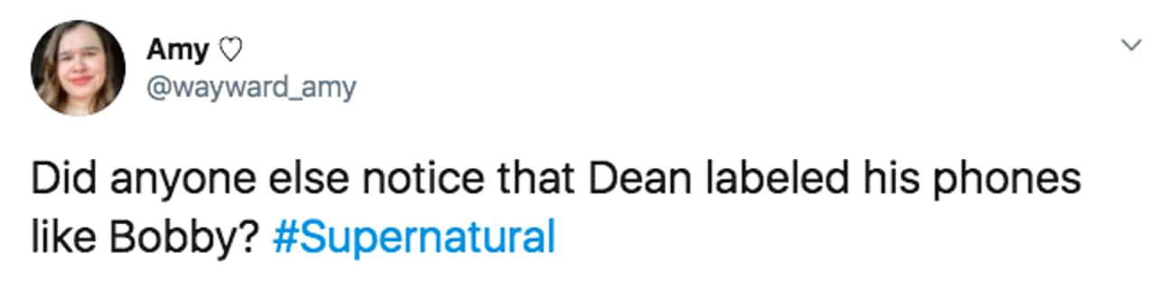 We Should All Be Like Bobby is listed (or ranked) 1 on the list Small But Poignant Details That Fans Noticed About 'Supernatural'