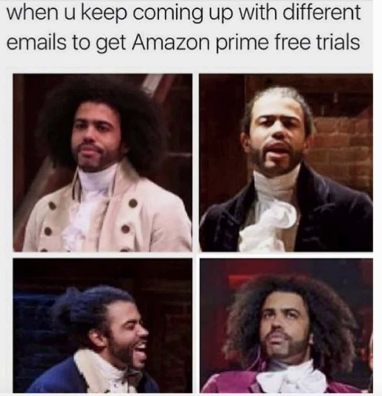 Wasn't Me is listed (or ranked) 3 on the list 25 More 'Hamilton' Memes For Fans Who Will Never Be Satisfied