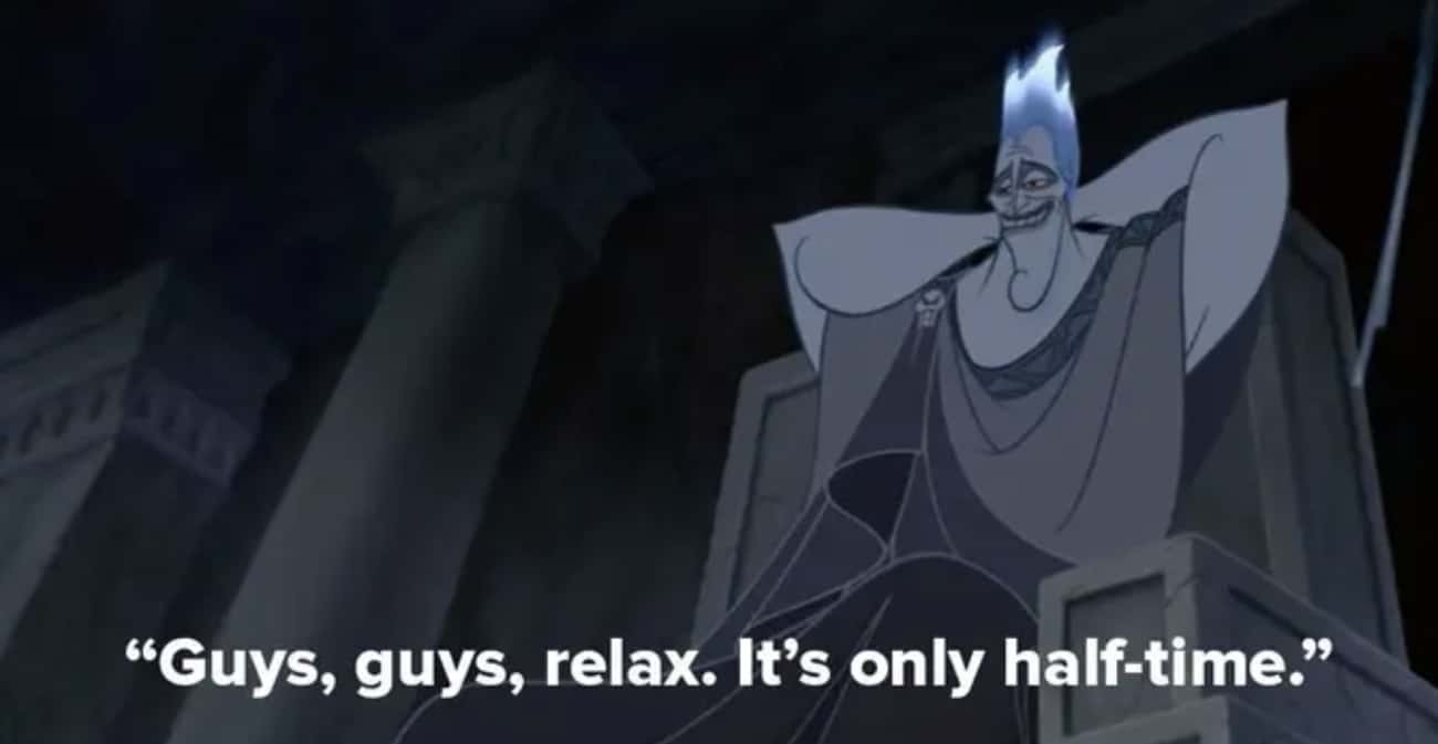 Hades Calls Out The Movie's Run Time