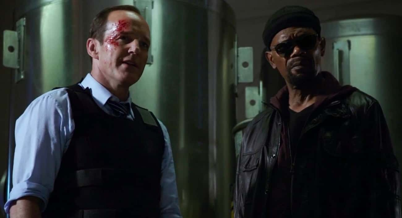 Nick Fury Showed Up To Save Th is listed (or ranked) 3 on the list All The Times 'Agents of S.H.I.E.L.D.' Actually Crossed Over With The MCU