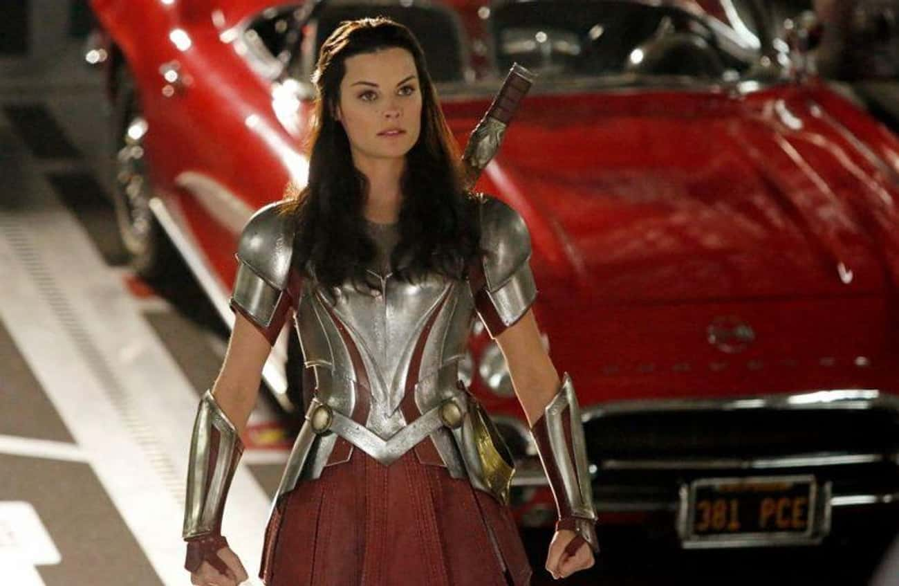 Sif Of Asgard Was An 'AoS' Reg is listed (or ranked) 4 on the list All The Times 'Agents of S.H.I.E.L.D.' Actually Crossed Over With The MCU