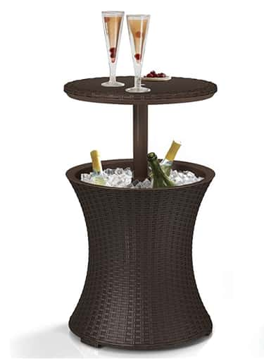 Cooler Table is listed (or ranked) 1 on the list The 20 Best Patio Furniture Buys To Upgrade Your Outdoor Living