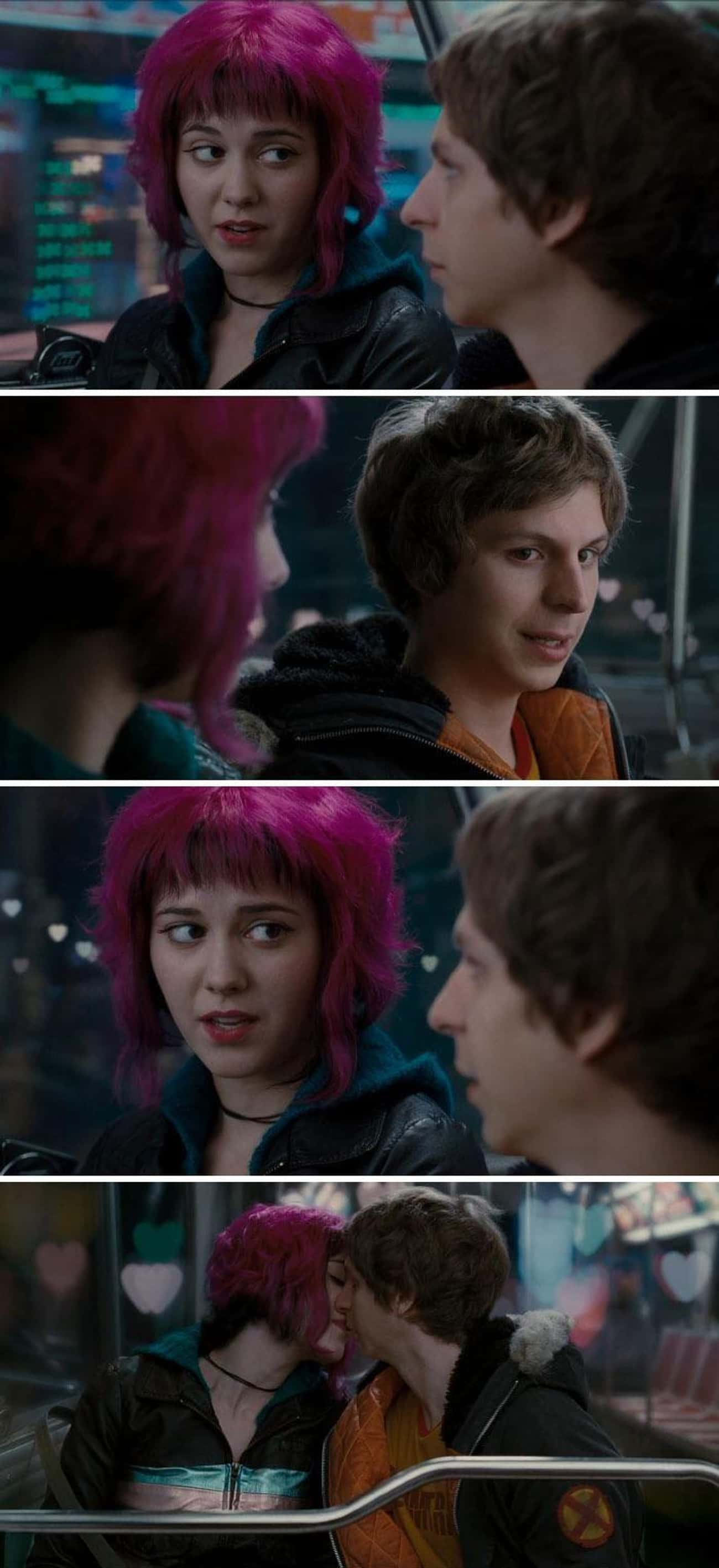 Background Check is listed (or ranked) 3 on the list Small But Epic Details Fans Noticed In 'Scott Pilgrim Vs. The World'