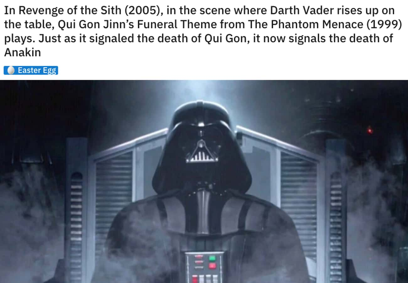 Death Anthems is listed (or ranked) 4 on the list 26Small But Poignant Details From 'Star Wars: Episode III - Revenge Of The Sith'