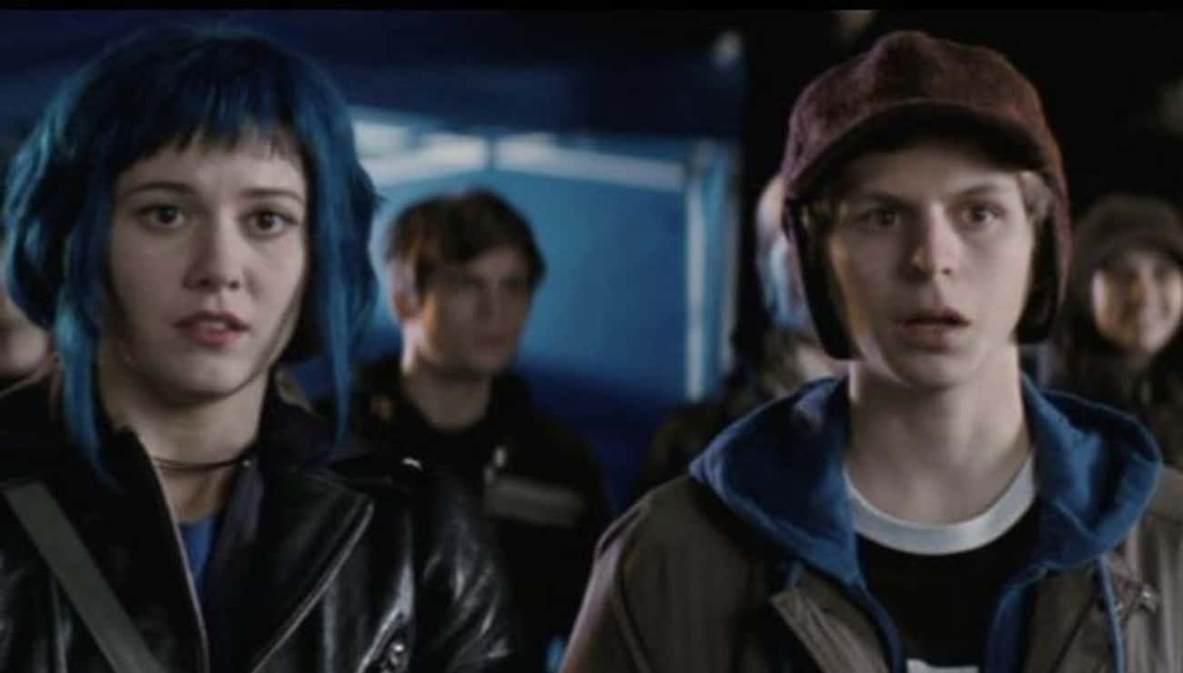 'Don't Blink' is listed (or ranked) 2 on the list Small But Epic Details Fans Noticed In 'Scott Pilgrim Vs. The World'