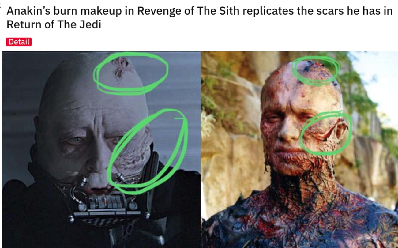 Burn Notice is listed (or ranked) 3 on the list 26Small But Poignant Details From 'Star Wars: Episode III - Revenge Of The Sith'