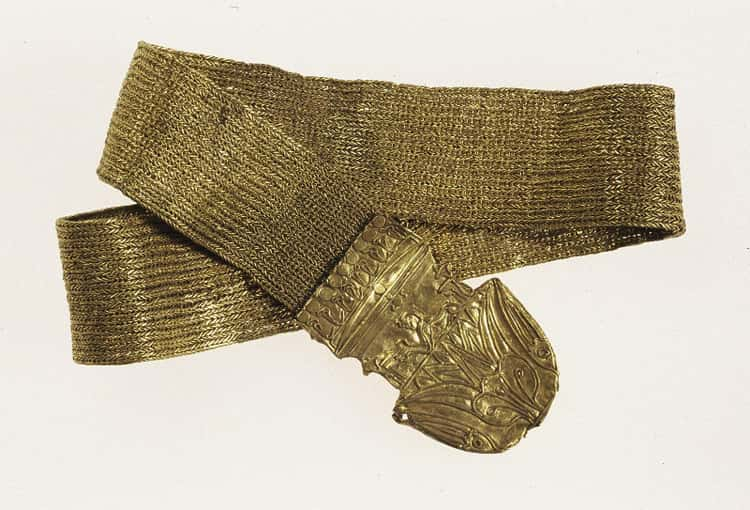 Decorated Strap Chain From The Ptolemaic Period
