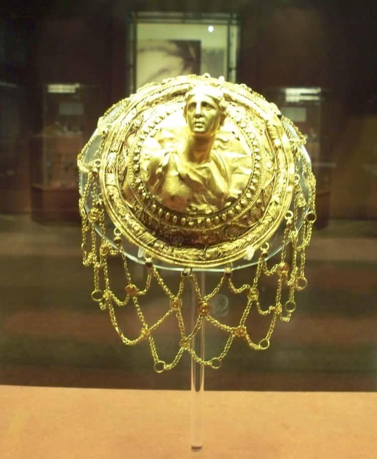 3rd Century BCE Gold Hair Net