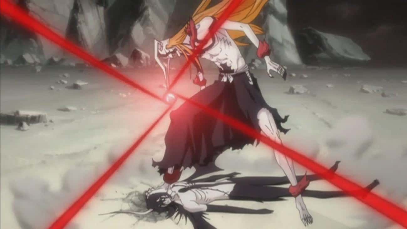 Ichigo Transforms Into His Ful is listed (or ranked) 4 on the list 24 Times Anime Characters Snapped And Went Berserk