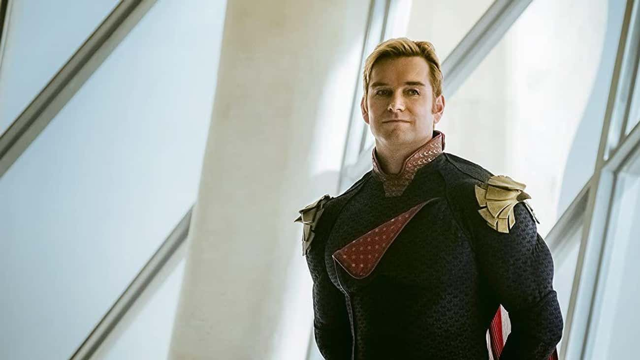 Antony Starr Loves Being Evil  is listed (or ranked) 3 on the list 'The Boys' Get Ready To Tackle Evildoers, Power Struggles, And Each Other In Season 2