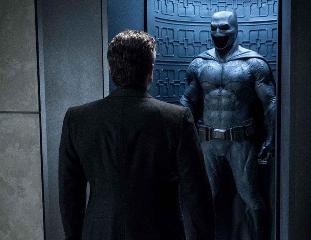 The Batsuit Was Simplified And Beaten Up To Emphasize Batman's Brawniness