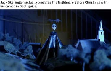 True Debut is listed (or ranked) 1 on the list 20 Small But Poignant Details From 'The Nightmare Before Christmas'