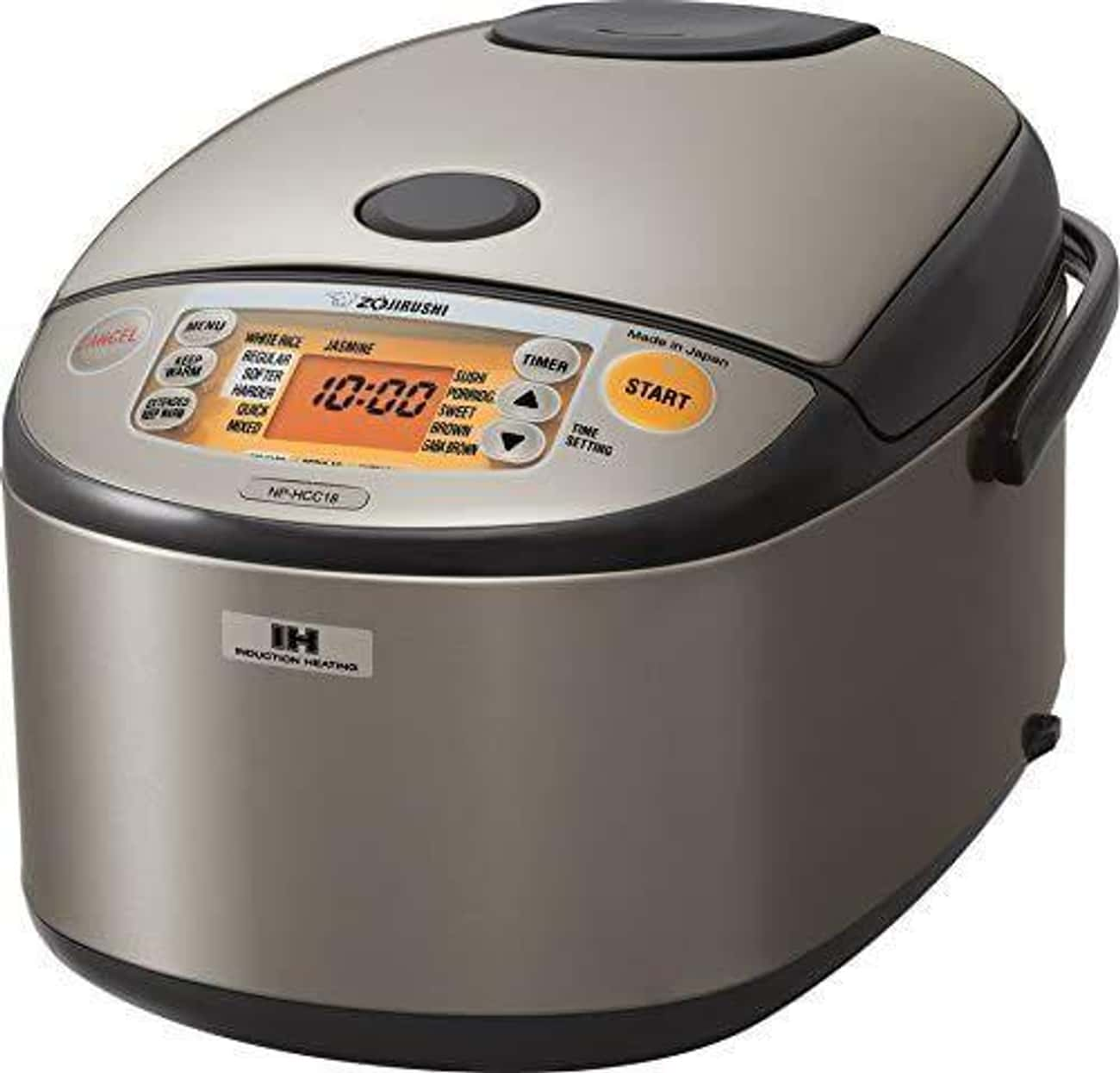 This Zojirushi Model Makes Per is listed (or ranked) 3 on the list The Best Rice Cookers
