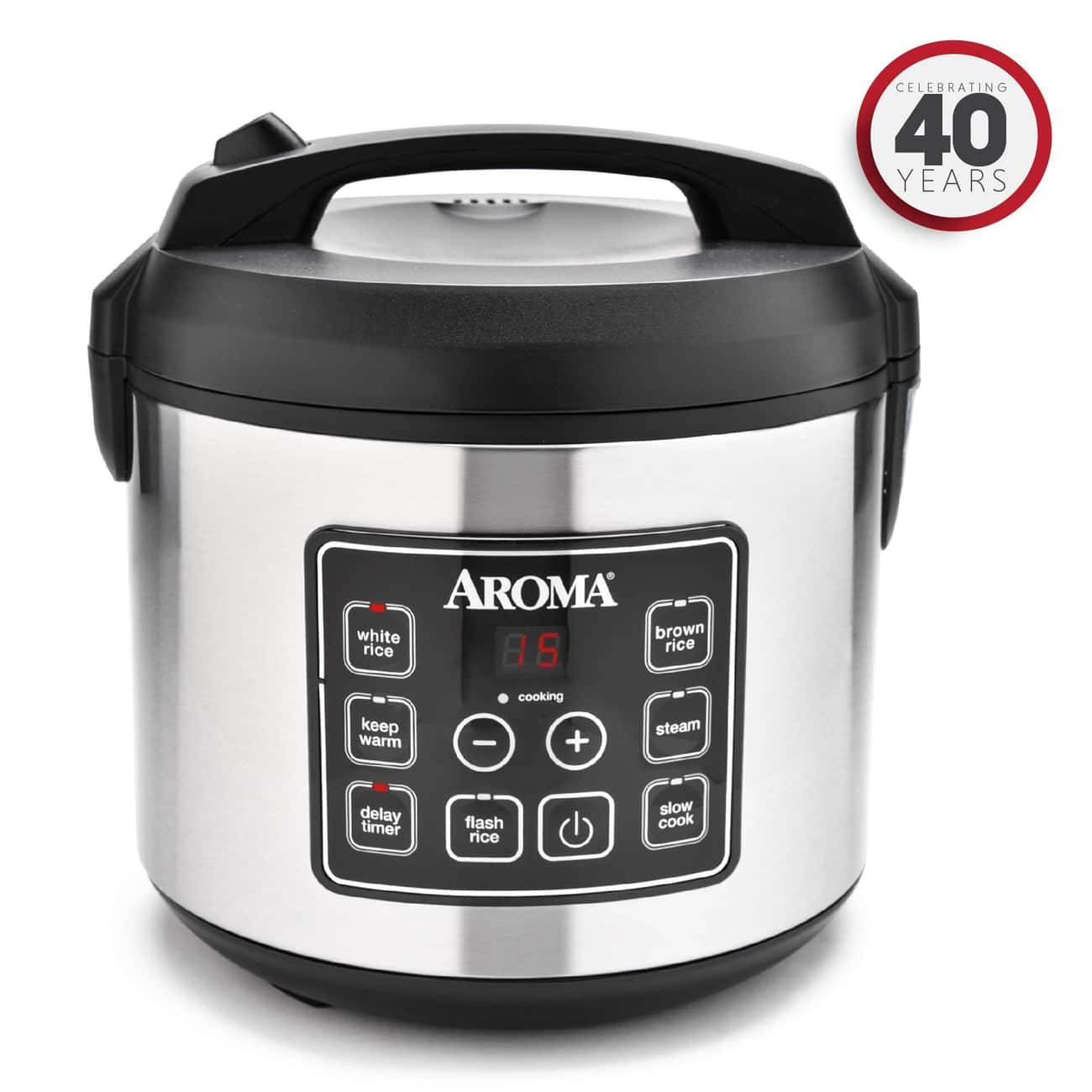 The Aroma Instant Pot Makes It is listed (or ranked) 4 on the list The Best Rice Cookers