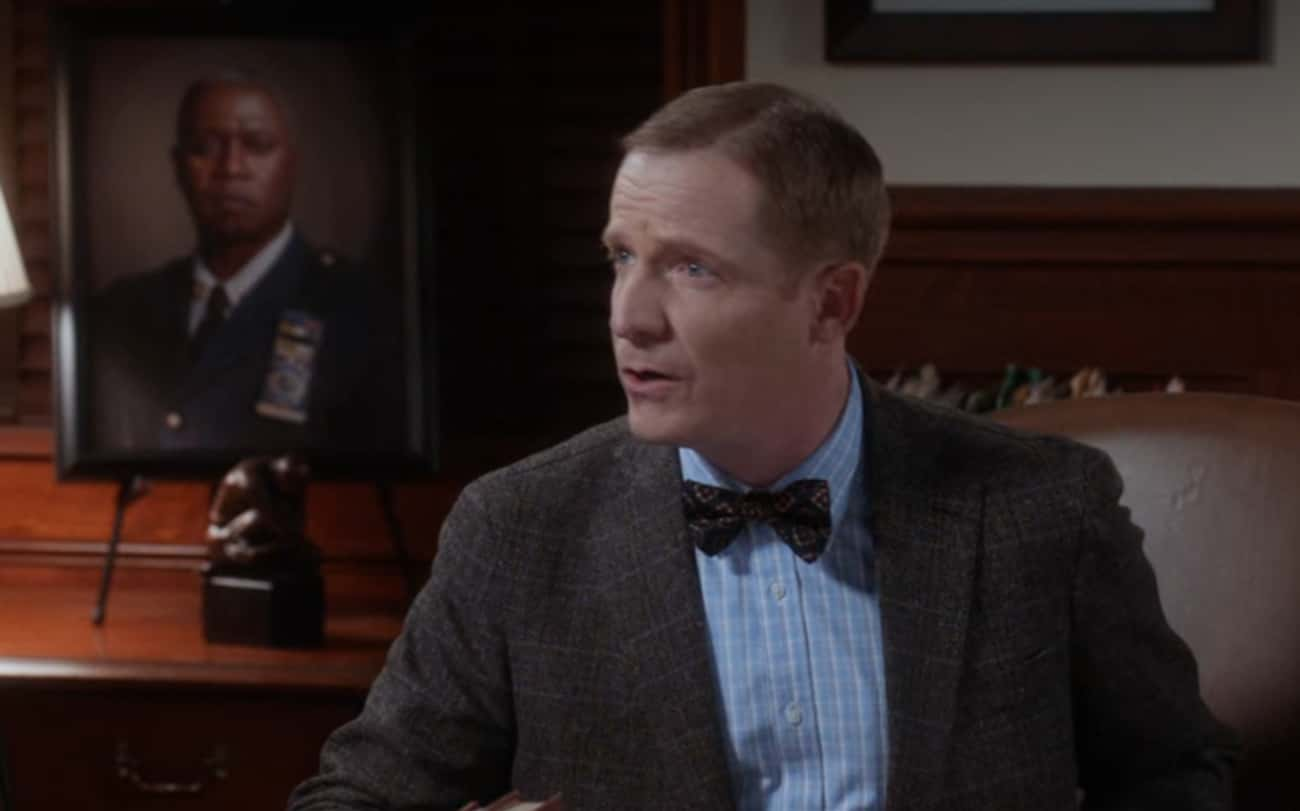 Terry's Portrait Of Holt In Ke is listed (or ranked) 1 on the list 18 Small But Poignant Details From 'Brooklyn Nine-Nine' That We Never Noticed Before