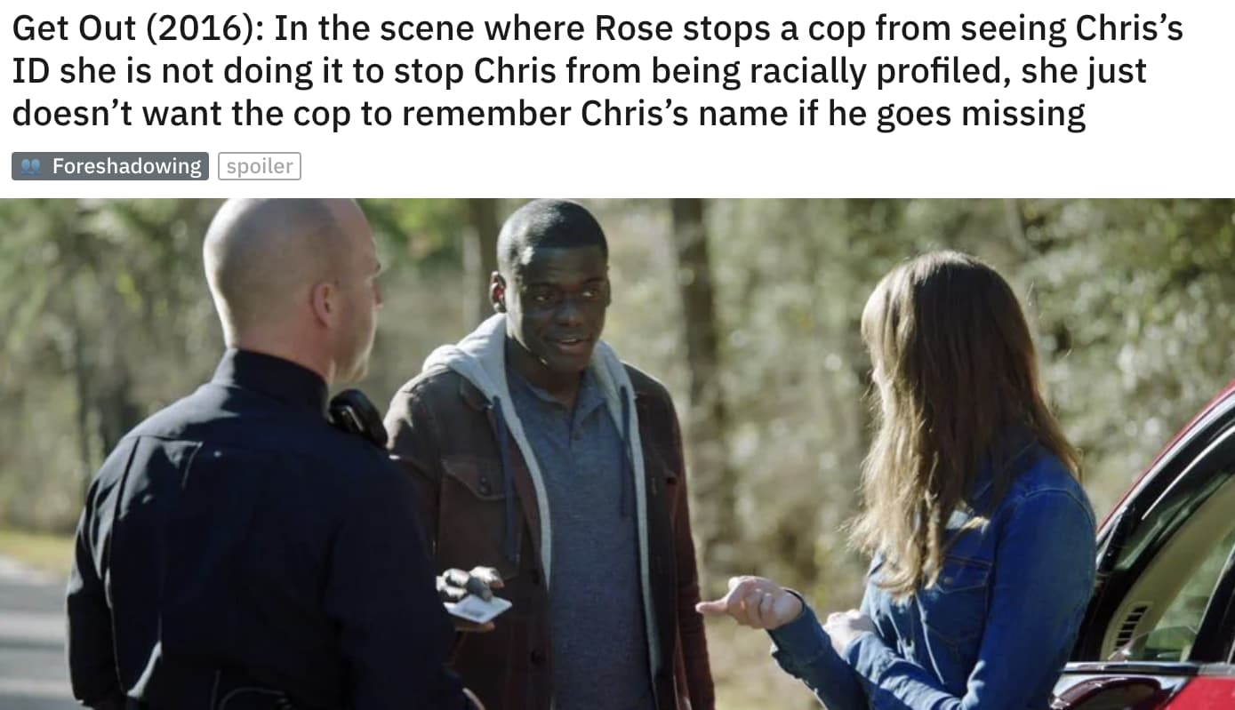 Image of Random Small But Poignant Details That Fans Noticed In 'Get Out'