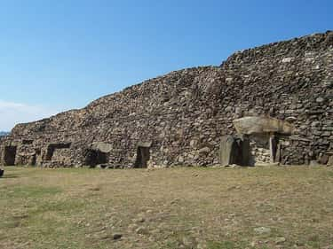 The Cairn Of Barnenez (c. 4800 is listed (or ranked) 2 on the list The Oldest Surviving Buildings In The World