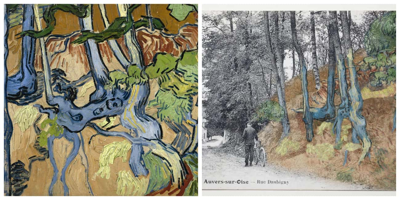 A Postcard Offers Clues To A Hillside Van Gogh Might Have Painted In His Final Hours