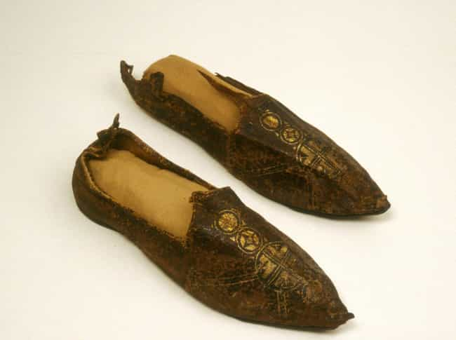 Byzantine Shoes is listed (or ranked) 2 on the list 25 Pieces Of Footwear Throughout History That Made Us Say 'Whoa'