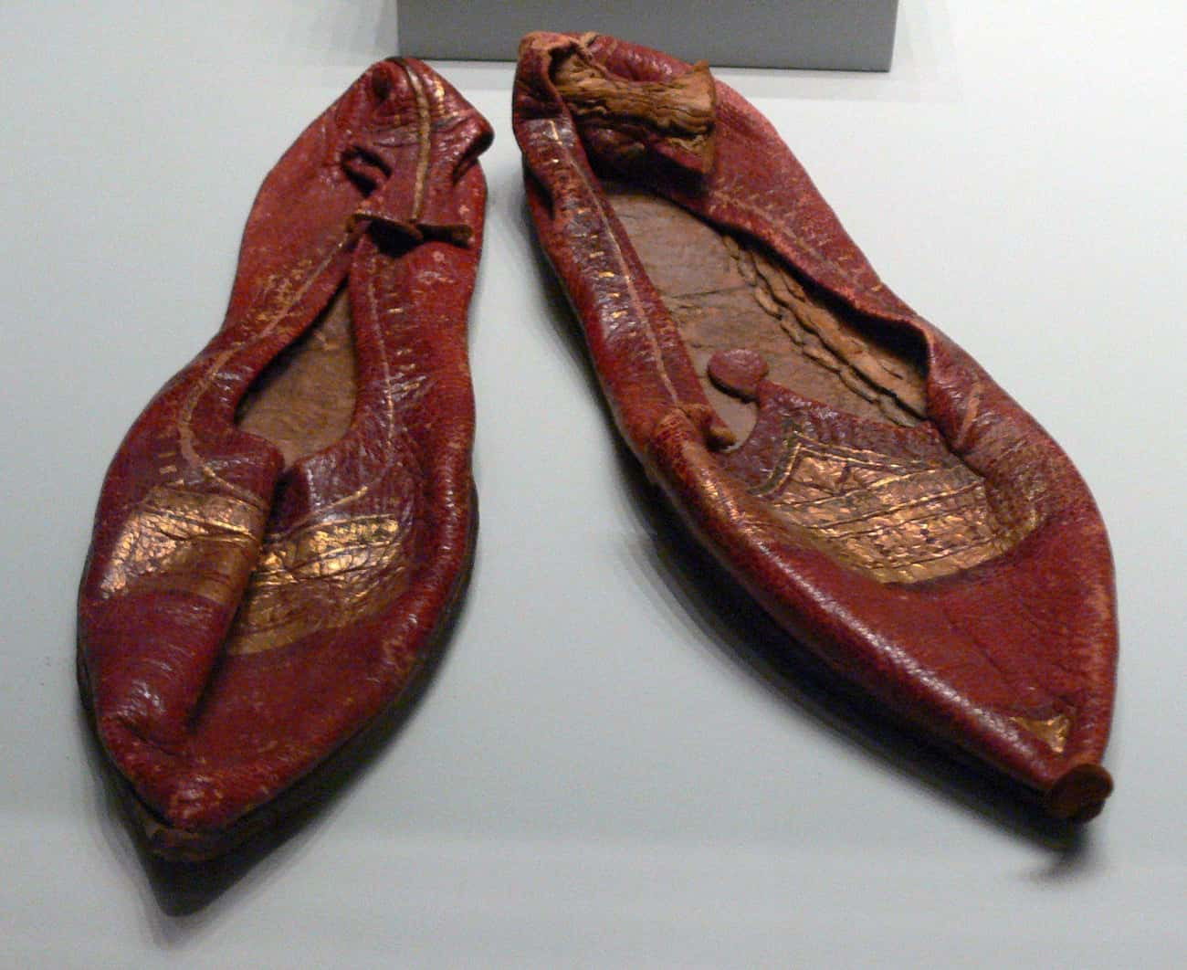 1st Century Leather Slippers