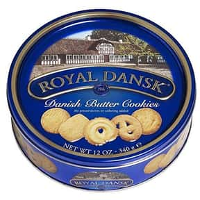 Royal Dansk is listed (or ranked) 20 on the list The Best Cookie Brands