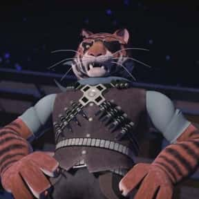 Tiger Claw is listed (or ranked) 13 on the list The Greatest Tiger Characters of All Time