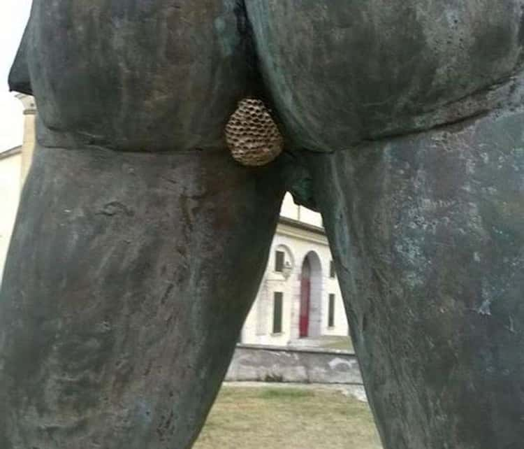 On A Statue